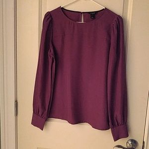 J. Crew blouse small